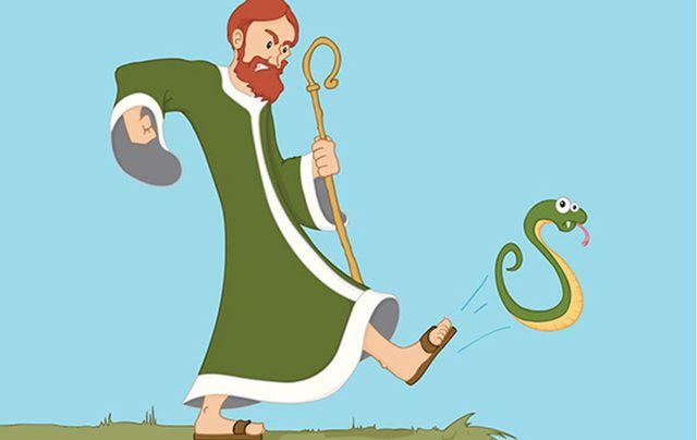 st patrick snakes