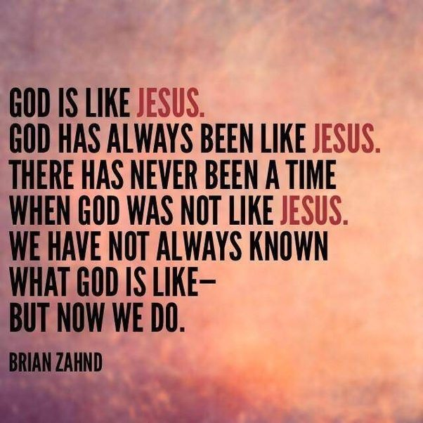 God-is-like-Jesus